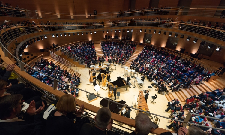 The Opening of the Pierre Boulez Saal on March 4, 2017 © Peter Adamik